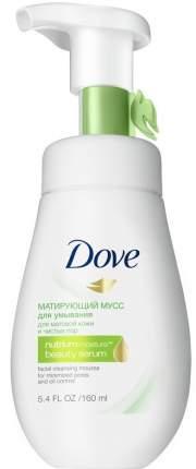 Мусс для умывания Dove Матирующий 160 мл