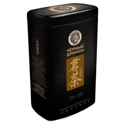 Чай черный Черный дракон пу эр листовой 100 г