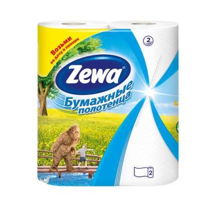 Бумажные полотенца Zewa 2 рулона