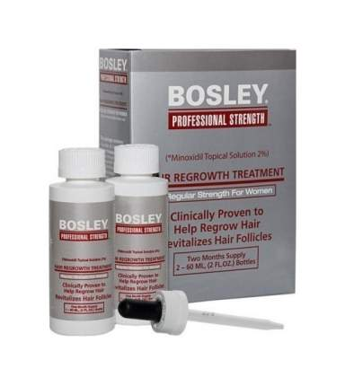 Эмульсия Bosley Pro усилитель роста волос 60 мл х 2
