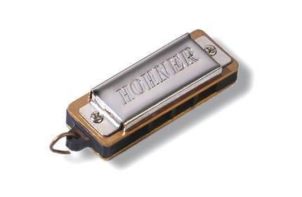 Губная гармоника уменьшенная HOHNER Mini Harp 125/8 C