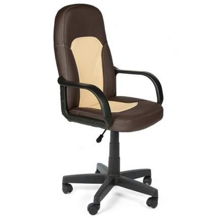 Офисное кресло TetChair Parma, бежевый/коричневый