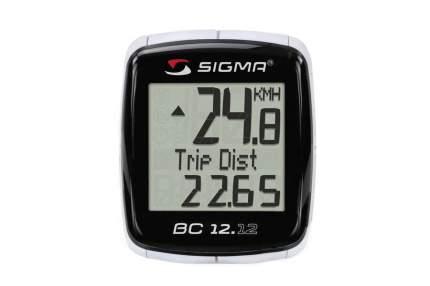 Велокомпьютер Sigma BC 12.12 черный