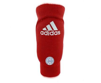 Защита локтя двухсторонняя Adidas WAKO Elasticated Elbow Guard Reversible сине-красная XL