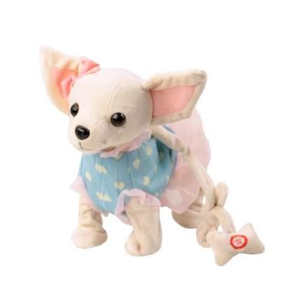 Мягкая игрушка Пушистые друзья Собачка интерактивная на мягком поводке JB500003