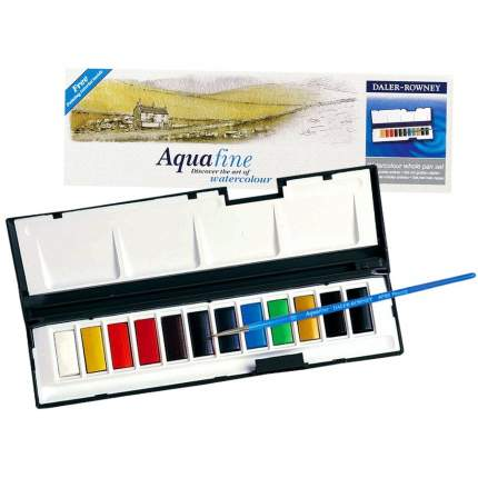 Акварель Daler Rowney Whole Pan Set Aquafine 12 цветов