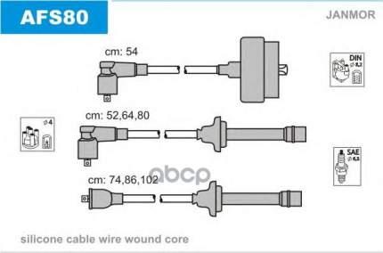 Комплект проводов зажигания JANMOR AFS80
