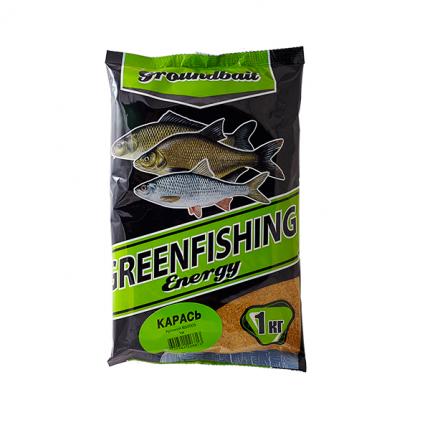 Прикормка Green Fishing Energy Карась 1 кг