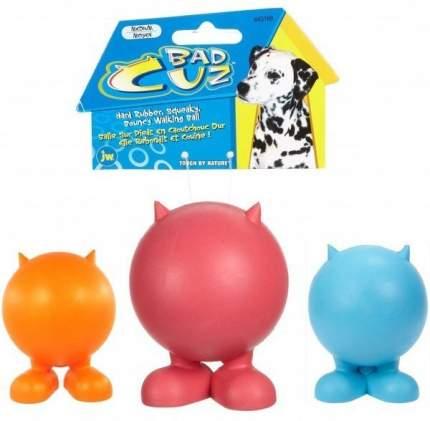 Игрушка JW Pet Bad Cuz Small Мяч на ножках с рожками малый для собак