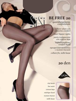 Колготки SiSi BE FREE 20 VITA BASSA / Nero / 3 (M)