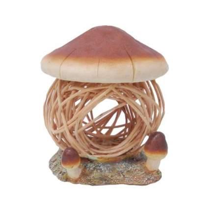 Дом для грызунов FAUNA INTERNATIONAL Mushroom House дерево/пластик