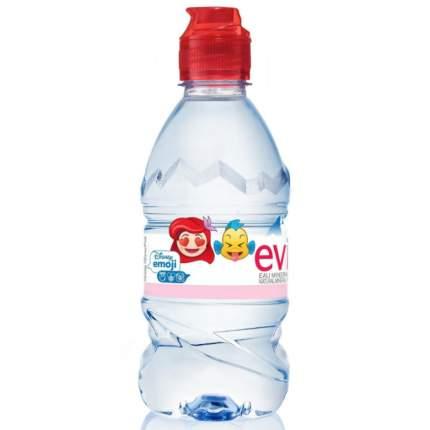 Вода детская Evian питьевая, 6 мес., 0.33 л