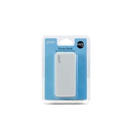 Внешний аккумулятор Gmini GM-PB044-W, 4400mAh, белый