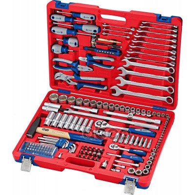 МАСТАК Набор инструментов универсальный 155 предметов 01-155C