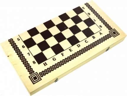 Набор большой Рыжий кот 2 в 1 Шашки, шахматы ИН-8284