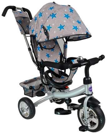 Велосипед трехколесный Farfello TSTX6588 серый с синими звездами