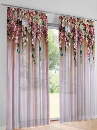 Комплект тюль MARTEX Любимые цветы