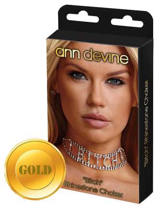 Ошейник Ann Devine Bitch DIA-7