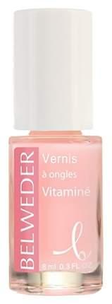 Лак укрепляющий для сухих и ломких ногтей Belweder мультивитаминный 8мл