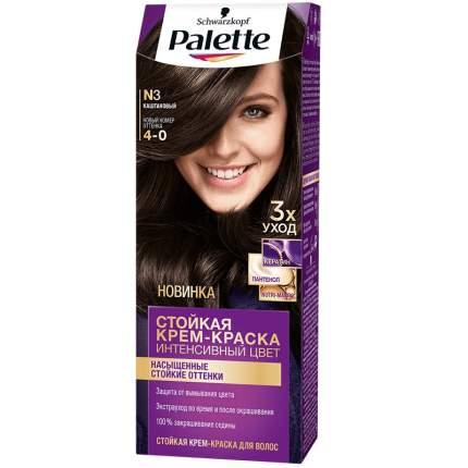 Краска для волос Palette Стойкая крем-краска N3 Каштановый