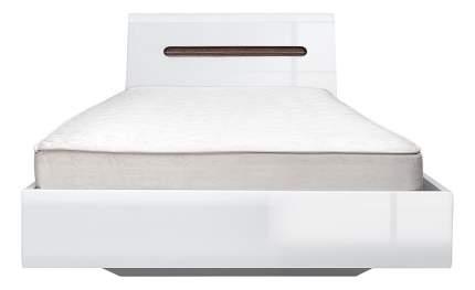 Кровать односпальная BlackRedWhite Ацтека LOZ 90х200 см, белый