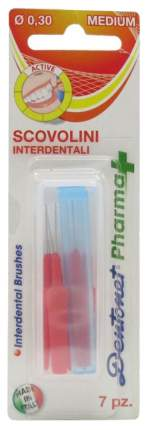 Ершик для зубов Dentonet Pharma+Medium 7 шт