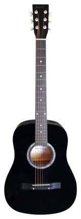 Акустическая гитара TERRIS TF-380A BK