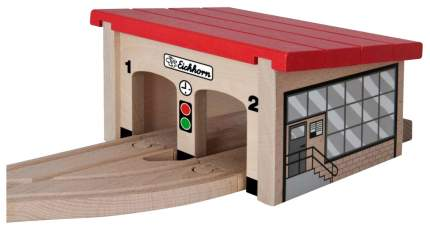 Железнодорожный набор Eichhorn Депо для 2 поездов 100001515
