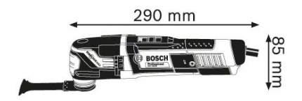 Сетевой реноватор Bosch GOP 55-36 601231101
