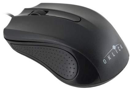Проводная мышка OKLICK 225M Black