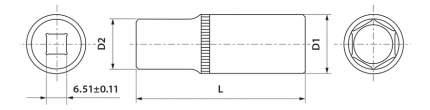 Торцевая головка THORVIK FS11410
