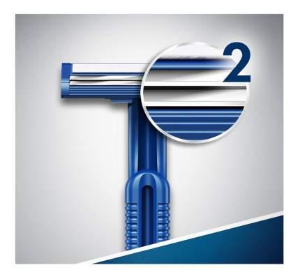 Одноразовая мужская бритва Gillette Blue2 10 шт