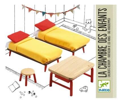 Спальня для детей для кукольного дома Djeco