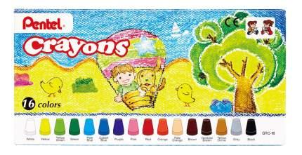 Восковые мелки Pentel Crayons 16 шт.