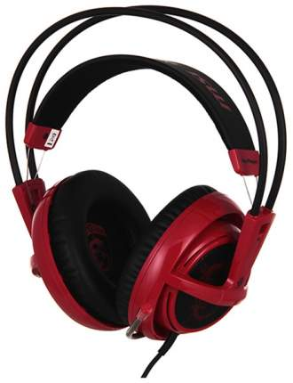 Игровые наушники SteelSeries Siberia V2 Headset Dragon Edition Black/Red