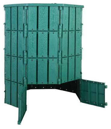 Компостер МастерСад 800 л с крышкой зеленый
