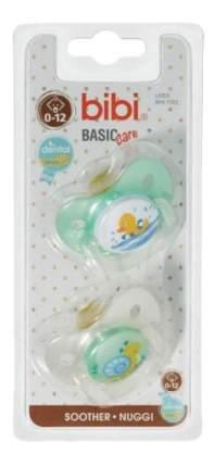 Набор детских пустышек bibi Dental Basic Care (мятная) 0-12 мес 2 шт.
