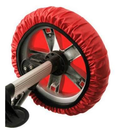 Чехлы на колеса коляски Roxy-Kids в сумке красный