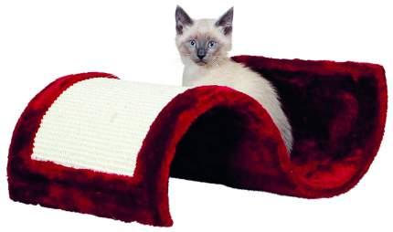Когтеточка для кошек Trixie Scratching Wave, размер 50x29x18см, бордовый