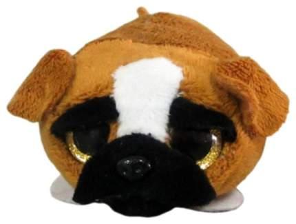 Мягкая игрушка ABtoys Собачка коричневая, 10 см