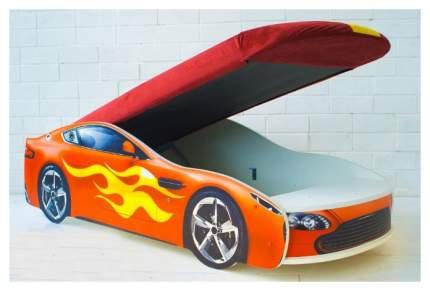 Кровать-машина с подъемным механизмом Бельмарко Бондмобиль 555 Красный