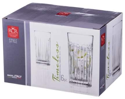 Набор стаканов RCR CRISTALLERIA ITALIANA timeless 440 мл 6шт