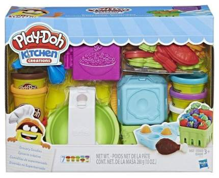 Набор для лепки из пластилина Play-Doh Hasbro Готовим обед