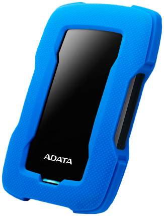 Внешний диск HDD ADATA DashDrive Durable 1TB Blue/Black (AHD330-1TU31-CBL)