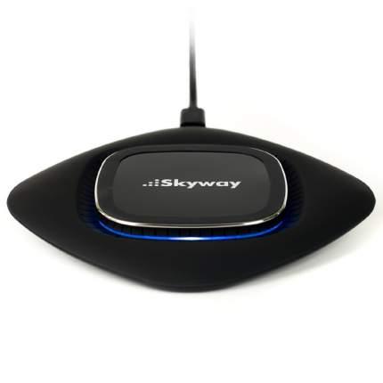 Беспроводное зарядное устройство Skyway Touch Black