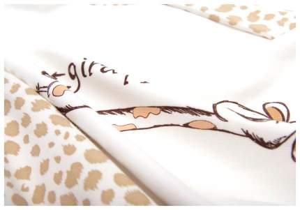 2412/10 56 Комбинезон Сонный Гномик Жираф с шапочкой молоко