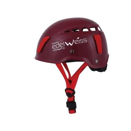 Каска Edelweiss Vertige Junior темно-красная S/M