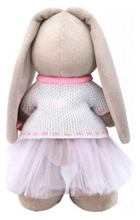 """Мягкая игрушка """"Зайка Ми"""" в жаккардовом свитере и юбке 32 см Зайка Ми"""
