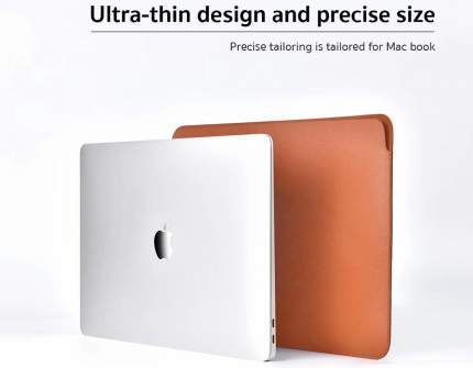 "Чехол COTEetCI Leather Liner Bag (MB1019-BR) для MacBook Pro 15"" (Brown)"