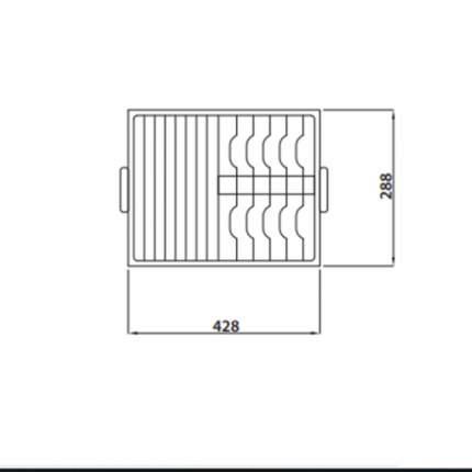 Корзина для кухонной мойки Kaiser KА-4329